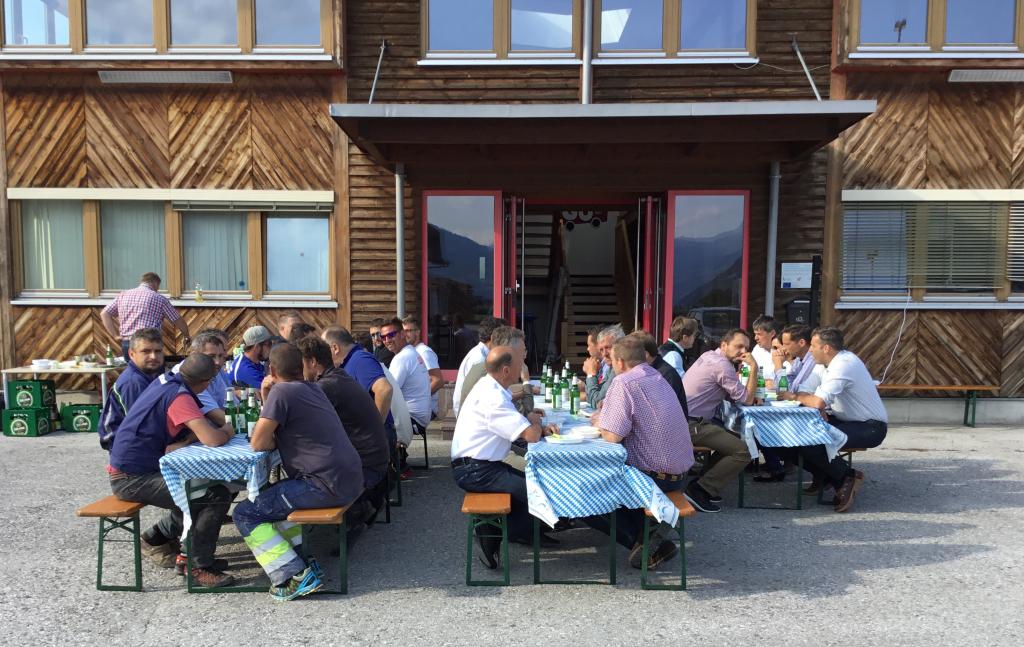 TirolPack Richtfest